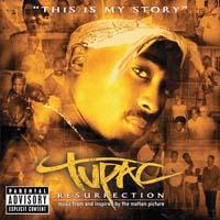 постер к альбому 2pac - Resurection (2003)