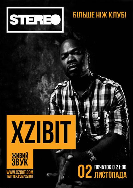 02.11.2011 Xzibit в Киеве