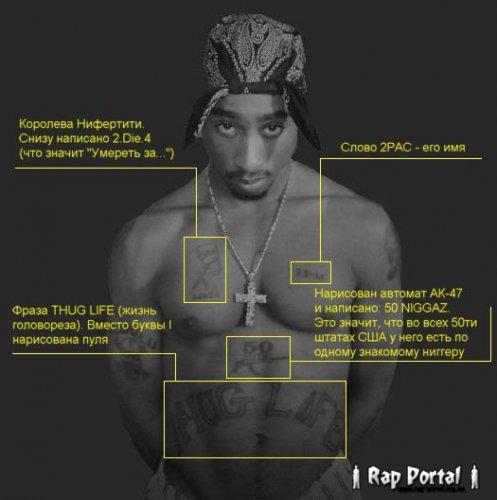 Татуировки Tupaca